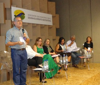 Encontro de Municípios FNP - mesa Planos de Educação