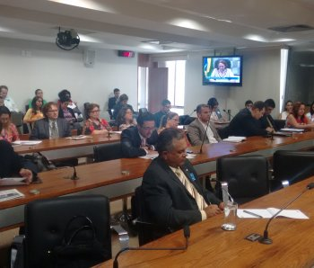 Audiência Pública do Senado - SNE